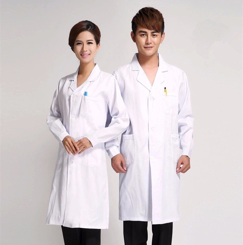 Ws739 unisex nurse uniform hospital clothing medical for Spa uniform indonesia