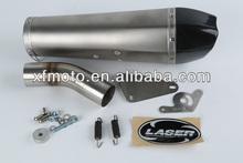 For KAWASAKI ZX-10R 2008-2010 Motorcycle Exhaust Pipe LASER Delta slip-on muffler