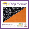 polyester compound both side printed velboa fabric