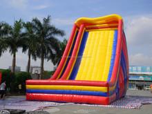 2015 funny inflatable slide, inflatable highest slide, inflatable toboggan slide