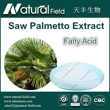 Factory Supply 100% Pure Natural Saw Palmetto Extract Fatty Acid 80%