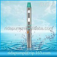 QJ deep well hydraulic pump italian water pumps