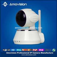 QF510 1 mega hd web audio video 720p pan/tilt ip camera 1 megapixel wifi infrared pt