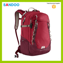 BSCI audit fashion sport backpack bag, waterproof satchel rucksack for 2016
