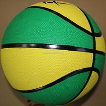 5 inches diameter customized rubber mini basketball