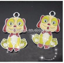 Unique designs alloy dog pendant for necklace