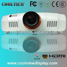 brillo de 10000 lúmenes 3LCD Proyector Full HD edificio proyector