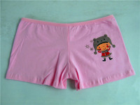 3004-5 new design cheap price multi size preteen lingerie cartoon printed cotton colorfor little children underwear girl models
