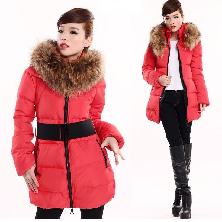 Женские пуховики, Куртки  A050