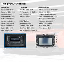 Digital Touch Screen Double Din Car DVD For VW Golf plus , EOS, Passat 6, Skoda Fabia Car Radio GPS Navigator