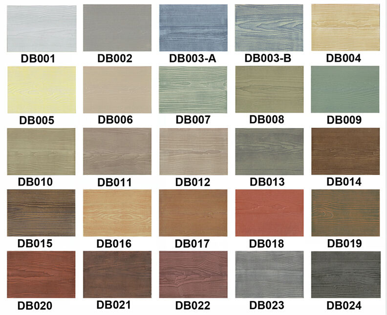 Fiber Cement Board Colors : Fiber cement siding colors wood grain
