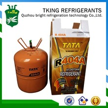 2015 Mix Refrigerant Gas R404A 24lbs/10.9KG High Purity and Best price