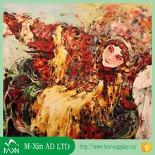 Flower oil painting digital printing on canvas oil painting