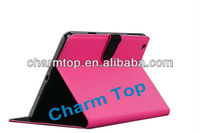 Litchi Leather Stand Cover For iPad Mini