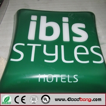Hotel LED outdoor sign board for advertising