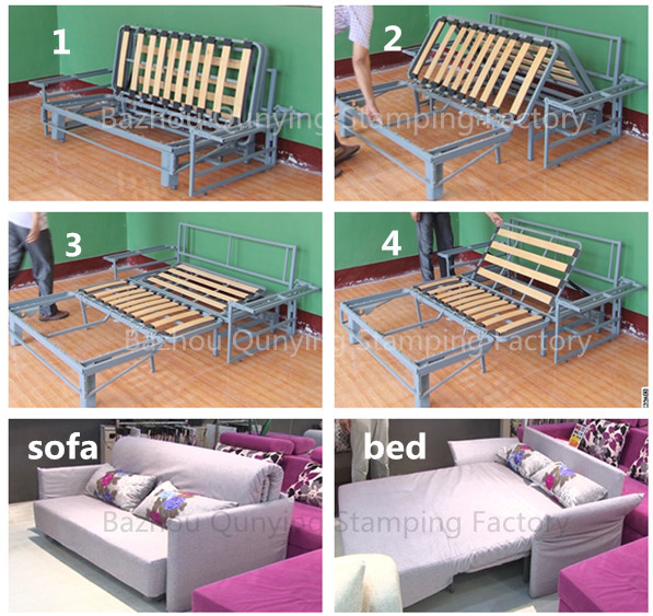A8081 Metal Bed Frame