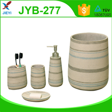 2015 New design fashion bathroom accessories with 5pcs set