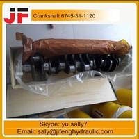 PC300-8 crankshaft 3965008 for cumins engine parts
