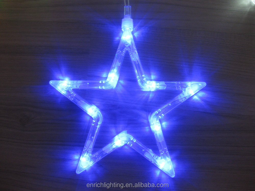 navidad exterior luz cm grande de la estrella led iluminacin del da de fiesta acv