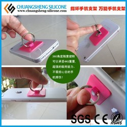 2015 Hot selling finger phone ring shape sticky phone holder