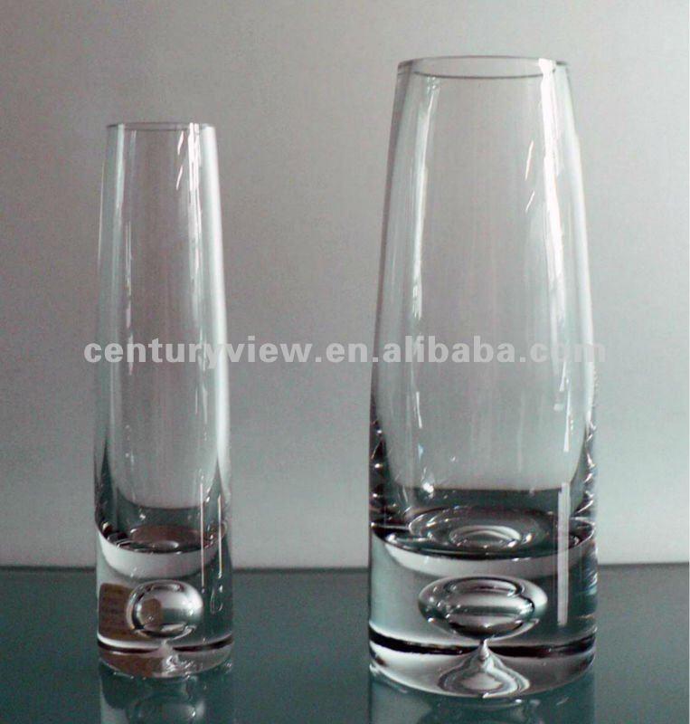 Round Clear Glass Tube Flower Vase - Buy Glass Tube Flower ...