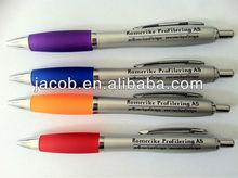 hot sale customized logo promotional pen 500 pcs MOQ with free shipping