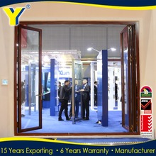 Double glazed folding door / aluminium folding door / aluminium awning windows comply with Australian & New Zealand standards