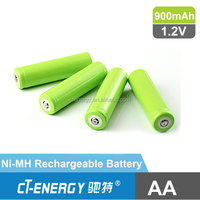 Ni-MH AA 900mAh 1.2V Battery Rechargeable Battery ECO-Friendly