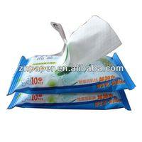 10pcs Scented Non Alcohol Wet Tissue