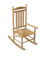 2015 antique wooden for kids,wooden toy rocking chair for children,comfortable wooden rocking chair toy for baby WJ277278-S