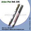 Slim metal ball pen