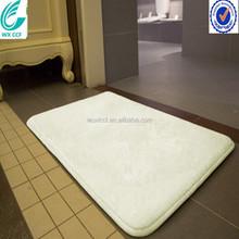 waterproof wholesale 100% polyester microfiber bath mat