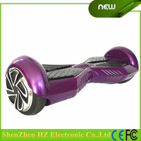 [NEW 2015] Two-wheel Self Balancing Smart Electric Scooter Drifting Board with 6-pcs Elbow Knee Wrist Safety Pad Set (Purple)
