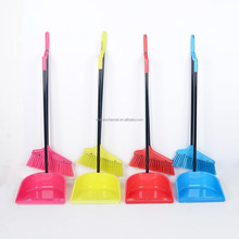 Plastic Broom And Dustpan For Floor Cleaning