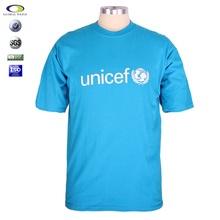 Custom top quality 100% cotton printing short sleeve tee shirts for men