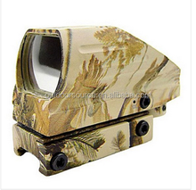 Camouflage Hunting Dot Sight 4 Reticles 1X33 20mm Base 15.8m@100m 1Click@1MOA Tactical Scope