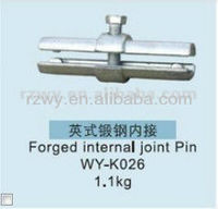 Tube scaffolding clamps Scaffolding Pressed Internal Joint Pin with EN74