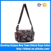 Motorcycle side bag cheap print one side school bags for girls