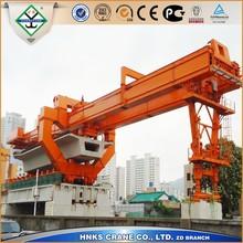 trusseed type bridge launching crane erecting machine for High Speed Way