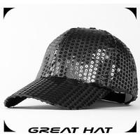 baseball cap/sequin hats for children/handmade hats for kids