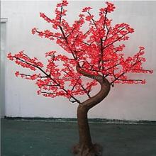 H2.1m Dia1.6m 100V-240V High Bright festival decoration artificial cherry tree led lights