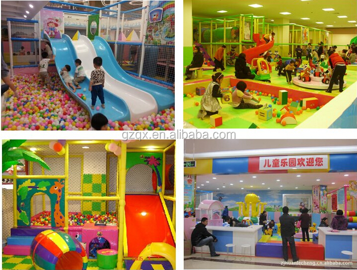 Guangzhou Factory Low Price Childrens Indoor Play Area Qx
