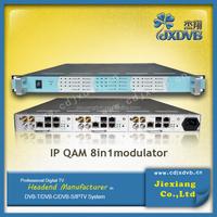 dvb c scrambler modulator in 1 IP Mux-QAM modulator