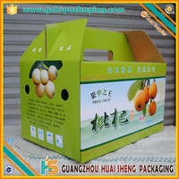 Disposable corrugated paper fresh strawberry fruit packaging box