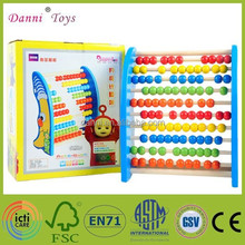New Arrival Moon Wooden Bead Abacus Educational Toys For Kids