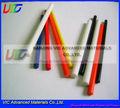 De fibra de vidrio frp marco para juguetes/poste de la lámpara/paraguas/cometas/plano del rc