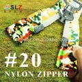 De alta #20 gigante transversales de nylon con cremallera