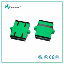 SC/APC Type Single Mode Duplex Fiber Optic Adapter Surlink