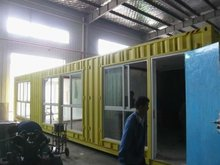 prefabricated container shipping house dormitory