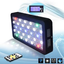 royal blue timer led aquarium light with lens, for coral,reef,saltwater,aquarium fresh water led lighting